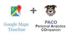 Google Maps and PACO app logos